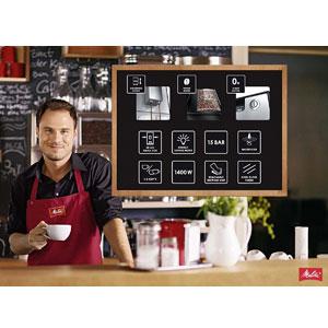Melitta E950-103 Caffeo Solo Automatic Coffee Maker