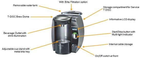 Bosch TAS6515GB Tassimo Coffee Maker Review | Espresso ...
